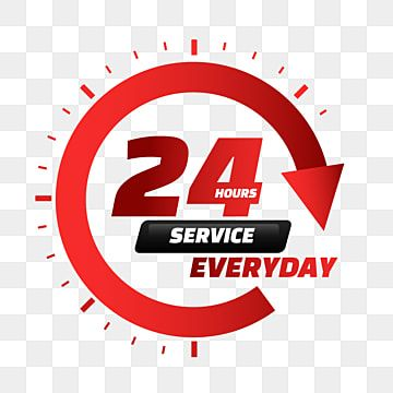 24 Hour Delivery Service Red Gradient Arrow 24 Hours Service Service Png And Vector With Transparent Background For Free Download 24 Hour Delivery Service Logo 24 Hour Service