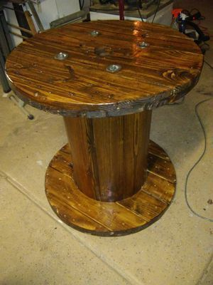 Wood Cable Spool For Sale In Tustin Ca Cablespooltables Wood