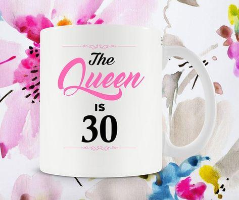 Funny Birthday Gift 30th Bday Ideas For Her Mug Coffee Cup B Day Pr