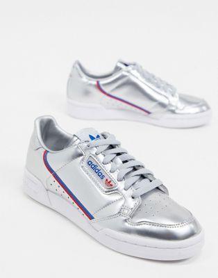 adidas Originals – Continental 80 – Sneaker in Silber in ...