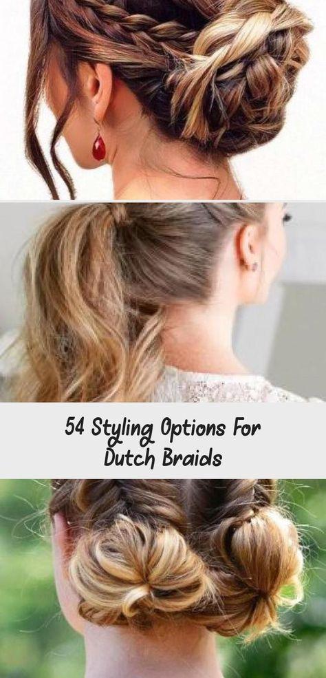 #cutehairstylesHalfUpHalfDown #cutehairstylesWithBandanas #cutehairstylesForFormal #cutehairstylesForDances #cutehairstylesForSports # dutch Braids brunette 54 Styling Options For Dutch Braids # dutch Braids brunette