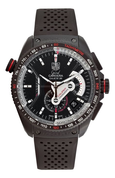http://ebuywatchesonline.info/tag-heuer-mens-cav5185-ft6020-grand-carrera-automatic-chronograph-black-dial-watch-review/ TAG Heuer Men's CAV5185.FT6020 Grand Carrera Automatic Chronograph Black Dial Watch