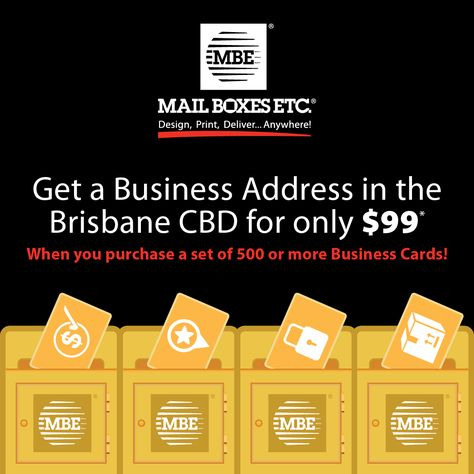 Overnight business cards brisbane pictures overnight business get a real street address in the brisbane cbd for 99 when you order reheart Image collections