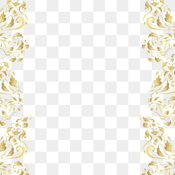 Golden Floral Frame Gold Color Png Transparent Clipart Image And Psd File For Free Download Ornament Frame Wedding Borders Gold Clipart