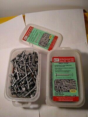 Sponsored Ebay 10d X 1 1 2 Hot Dip Galvanized Nail 3 Lbs Galvanized Nails Hot Dip Roofing Nails