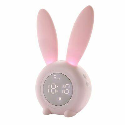 Bunny Clock Lamp