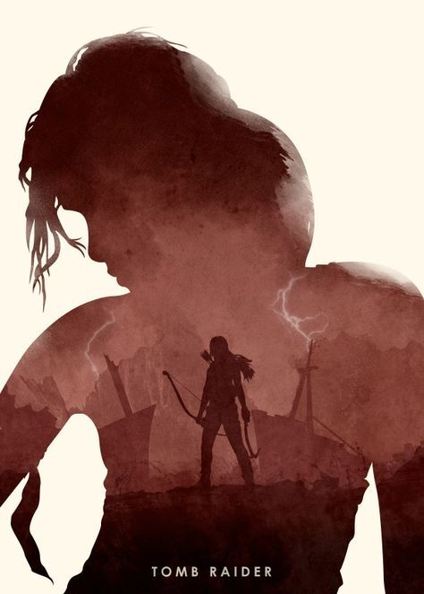 In Game Art High Quality Prints Tomb Raider Shadow of the Tomb Raider Poster