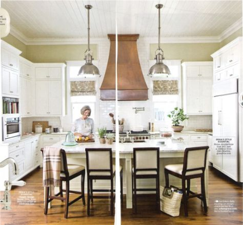 SMITTEN BY: PAINTED KITCHEN CABINETS - BluLabel Bungalow | Interior Design Advice and Inspiration | BluLabel Bungalow | Interior Design Advice and Inspiration