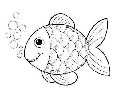 Menggambar Ikan Untuk Anak Tk Di 2020 Dengan Gambar Adult