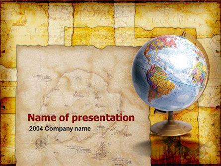 Historical Geography Powerpoint Template Geografia Modelos De