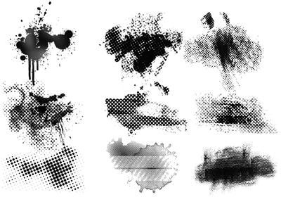 Ink Drop And Spray Paint Brushes Pack Free Photoshop Brushes At Brusheezy Photoshop Wallpapers Halftone Tree Photoshop