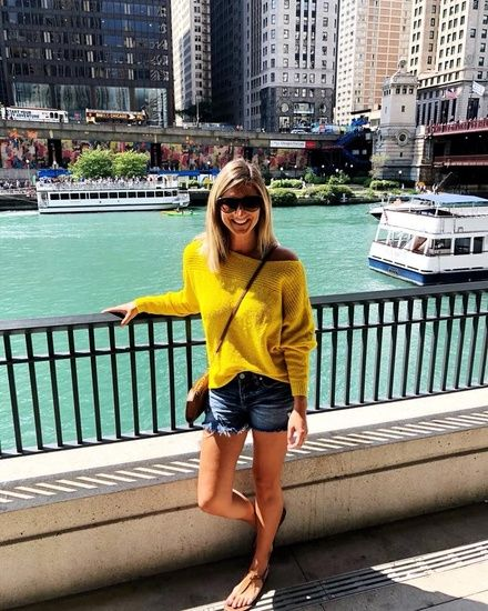 29ec9cf5ca65f Shop the Look from Living in Yellow on ShopStyle - How to Wear a Bralette  with an Off the Shoulder Sweater    How to .