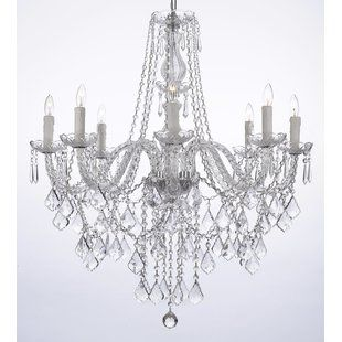 Rosdorf Park Clemence 5 Light White Hardwired Candle Style Chandelier Wayfair Crystal Chandelier Lighting Crystal Chandelier Chandelier Lighting