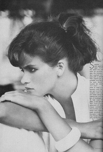Gia Marie Carangi - Vogue/May 1980 by David Rosas