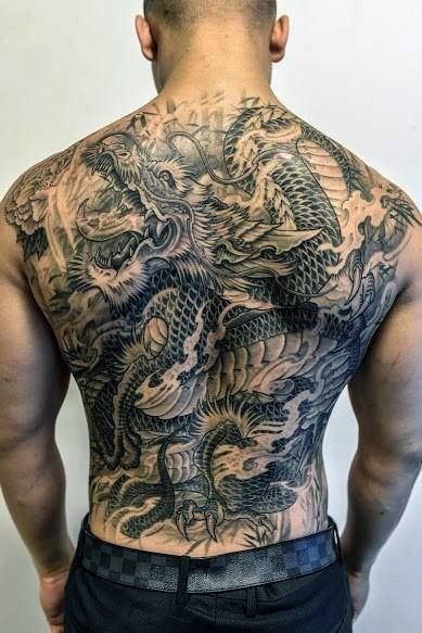 50 Deadly Dragon Tattoos For Men - Manly Mythical Monsters - Tattoo Life