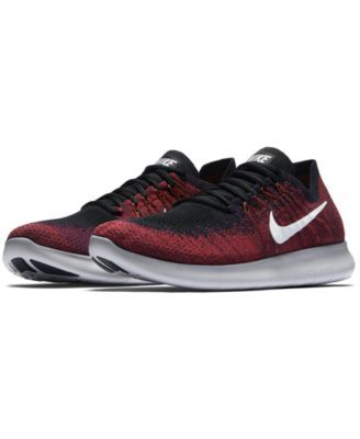 Nike Men s Free Run Flyknit 2017 Running Sneakers from Finish Line - Finish  Line Athletic Shoes - Men - Macy s b41a3c382