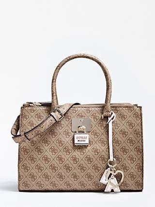 Downtown Cool Logo Print Handbag