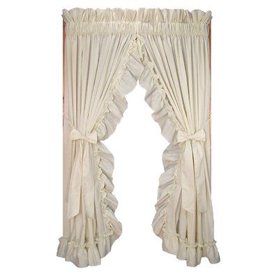 Ophelia Co Winland Rod Pocket Curtain Panels Color Natural