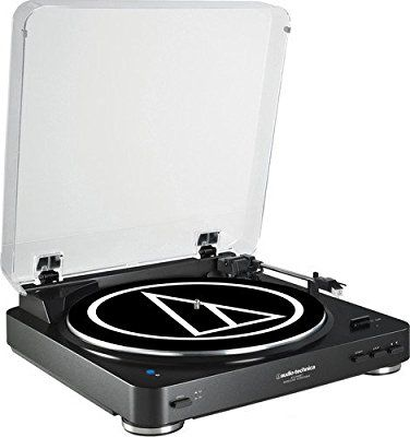 Amazon Com Audio Technica At Lp60bk Bt Fully Automatic Wireless Belt Drive Stereo Turntable Audio Technica Turntable Stereo Turntable Turntable Record Player