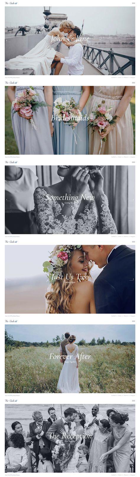 Use this photography slider feature to awe everyone with your amazing wedding photographs!   #wordpress #webdesign #websitedesign #designinspiration #wedding #celebration #weddingplanner #weddingwebsite #weddinginspiration #weddingbusiness #weddingday #weddingphoto #feminine #elegant