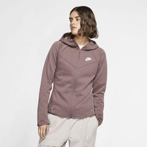 Products Nike Sportswear Windrunner Tech Fleece Women's Full-Zip Hoodie (Plum Eclipse) What You Alwa