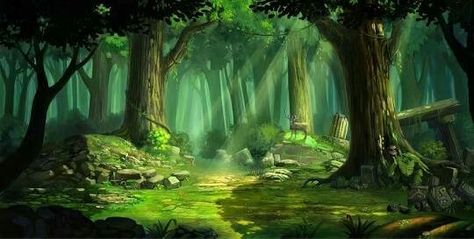 Floresta Desenho Imagem De Floresta Floresta Desenho Cenario Anime