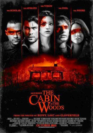 The Cabin In The Woods 2012 Dual Audio 720p Bluray Hindi English Free Download 20xmovies Into The Woods Movie Best Horror Movies Horror Movies