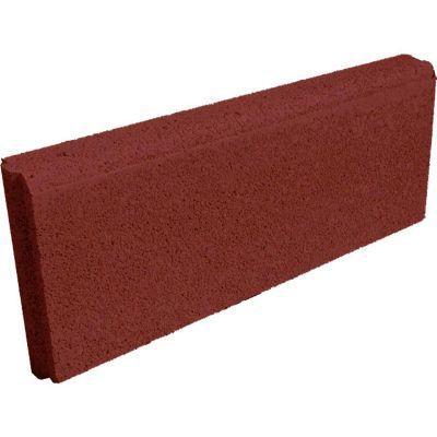 Bordure Droite Rouge 50 X 20 Cm Ep 5 Cm Castorama Bordure Castorama Bordure Beton
