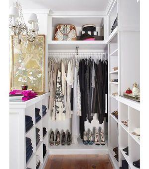 とっても参考になる海外 国内の収納 ウォークインクローゼットまとめ 世界のアイディア収納術 Naver まとめ Closets Pequenos Armario Quarto Design De Closet