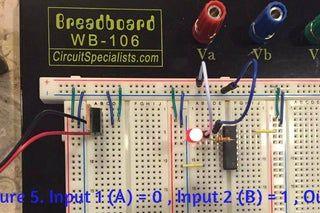 Digital Logic Gates Part 1 In 2020 Simple Circuit Logic Digital