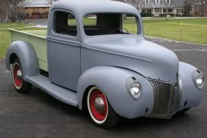 1940 Ford Pickup Truckall Steel Body And Fenderssolid Floorsnew Northern Pickup Bed And Tailgate With New Ford Pickup Trucks Ford Pickup Classic Pickup Trucks