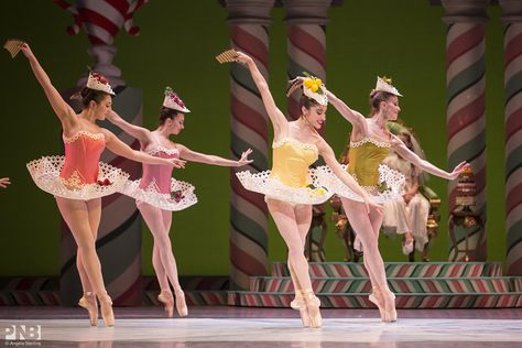 Leta Biasucci and PNB company dancers in George Balanchine… | Flickr