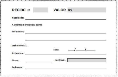Modelo De Recibo De Aluguel Para Imprimir 15 Opcoes Com Imagens