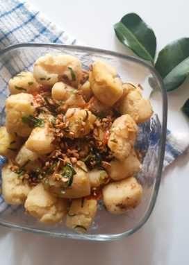 Resep Tahu Cabe Garam Oleh Nirmala Resep Resep Tahu Resep Masakan