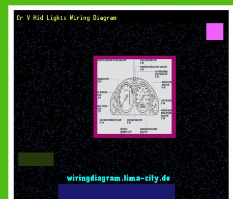 cr v hid lights wiring diagram trusted wiring diagrams rh hamze co