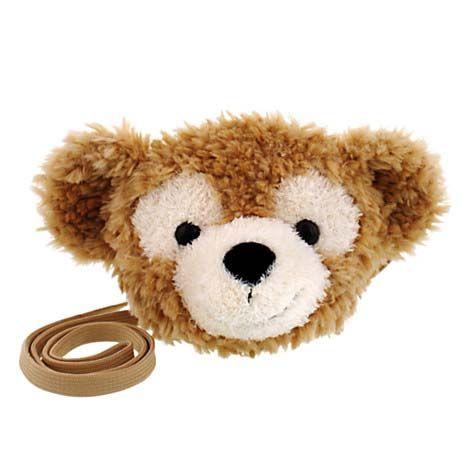 Disney Handbag - Duffy the Disney Bear Plush Face