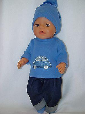 Puppenkleidung Kleidung Fur Baby Puppen 43cm Junge Boy Mehrteil Set Ohne Puppe Ebay In 2020 Puppenkleidung Jugendkleidung Baby Puppen