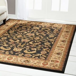 Home Dynamix Royalty Collection Traditional 43 X62 Machine Made Polypropylene Area Rug Brown Ivory Traditional 43 X 62 Area Rug Beige In 2020 Area Rugs Traditional Area Rugs Carpet Sale