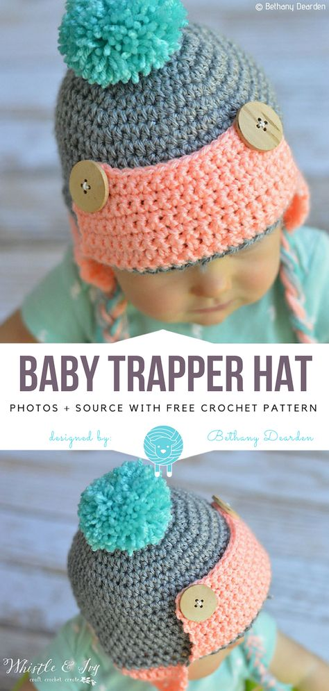54422ab9b523a List of Pinterest trapper hat baby patterns pictures   Pinterest ...