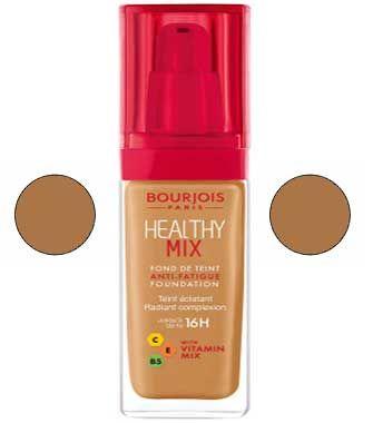 كريم اساس برجوا هيلثي الاصلي درجات اللون و انواعه بالصور Original Bourjois Healthy Foundation Color Levels And Ty Healthy Mix Foundation Bourjois