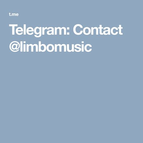 I Leave You My Telegram Channel Where I Share Music Mostly From Spotify Feel Free To Join