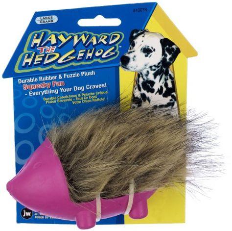Jw Pet Company Hayward The Hedgehog Dog Toy Large Colors Vary