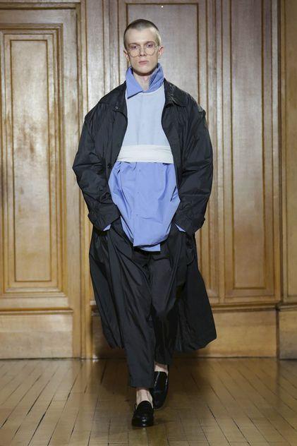 Hed Mayner Menswear Fall Winter 2018 Paris //