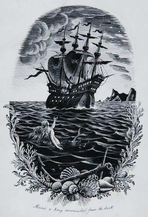 Rex Whistler, Hans Christian Andersen's the Little Mermaid