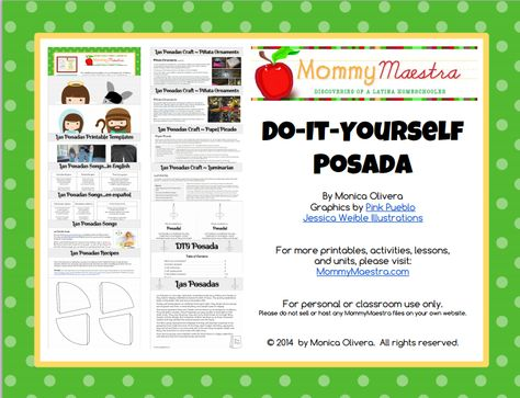 NEW! Do-It-Yourself Posada Kit {GIVEAWAY}