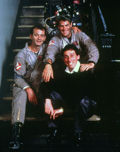 Ivan Reitman ,Bill Murray, Dan Ghostbusters