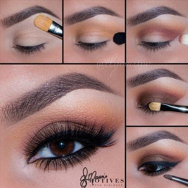 Gorgeous Makeup: Tips and Tricks With Eye Makeup and Eyeshadow – Makeup Design Ideas Dramatic Eye Makeup, Eye Makeup Steps, Makeup For Brown Eyes, Brown Eye Makeup Tutorial, Eye Tutorial, Eyeshadow Looks, Eyeshadow Makeup, Makeup Brushes, Hd Makeup