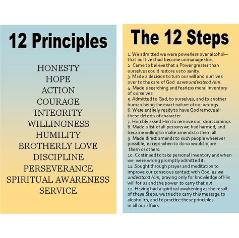 principles of the 12 steps of aa