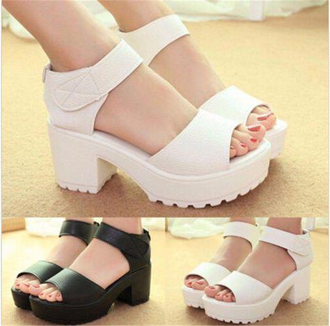 a4ed62897669 Unique Designer High Heels  uniquedesignerhighheels · US-Women-Gladiator- Platform-Sandals-Peep-Toe-Wedge-