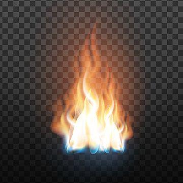 Flaming Phenix Blue Background Images Fire Transparent Background